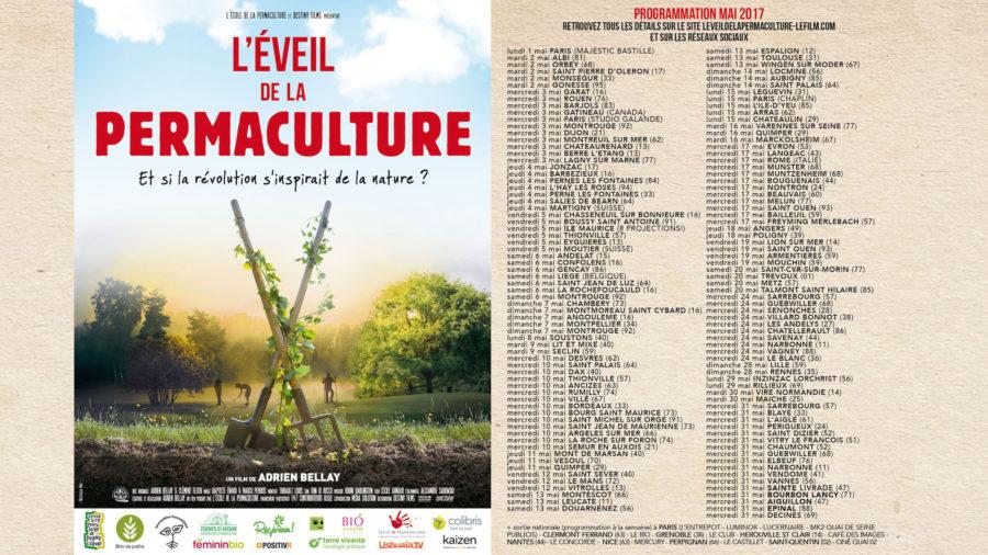 Où voir l'éveil de la permaculture en mai